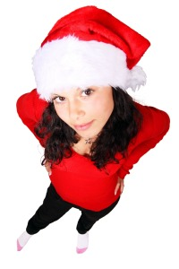 Boy, would I like to be her Santa Claus.