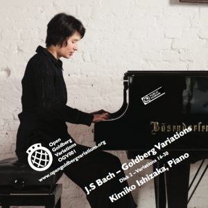 Kimiko Ishizaka - J.S. Bach- -Open- Goldberg Variations, BWV 988 (Piano) - OGV-CD2-0